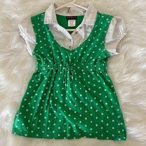 One step up green school girl dress
